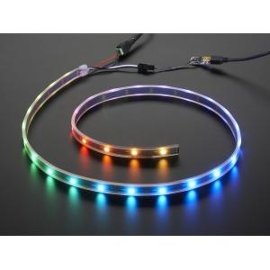 NeoPixel Digital RGB LED riba stardikomplekt, 30 LEDi, must alus
