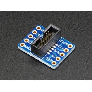 SWD Breakout - 2x5 1.27mm konnektoriga adapter
