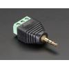 3.5mm (1/8) Stereo Audio Plug Terminal Block