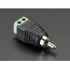 RCA (Composite Video, Audio) Male Plug Terminal Block