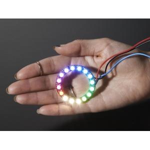 NeoPixel 16 x 5050 RGBW LED rõngas, naturaalne valge