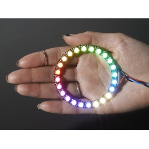 NeoPixel 24 x 5050 RGBW LED rõngas, naturaalne valge