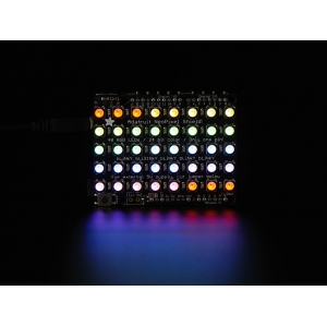 NeoPixel 5x8 RGBW LED maatriks, Arduino´le, soe valge