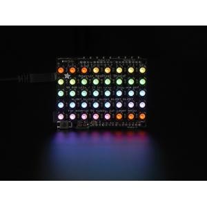 NeoPixel 5x8 RGBW LED maatriks, Arduino´le, naturaalne valge