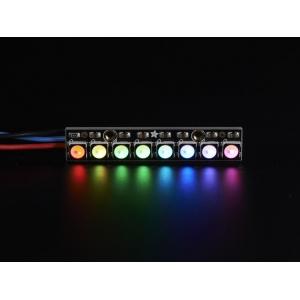 NeoPixel 8 x 5050 RGBW LED riba, külm valge