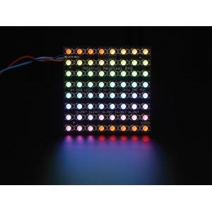 NeoPixel 8x8 RGBW LED maatriks, naturaalne valge