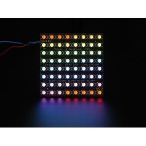 NeoPixel 8x8 RGBW LED maatriks, külm valge