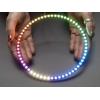 NeoPixel 60 x 5050 RGBW LED rõnga 1/4 sektor, naturaalne valge