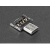 USB OTG adapter, Micro-B OTG - USB-A pesa