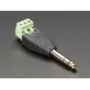 1/4 (6.35mm) Stereo Plug Terminal Block