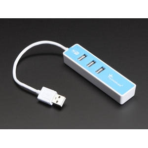 USB 2.0 WiFi Hub with 3 USB Ports