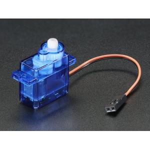 Alalisvoolu mootor Micro Servo korpuses