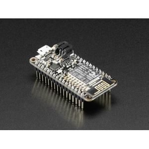 Adafruit Feather HUZZAH ESP8266 WiFi mikrokontroller, konnektoritega