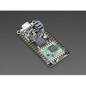 Adafruit Feather 32u4 RFM96 LoRa RF mikrokontroller, 433MHz