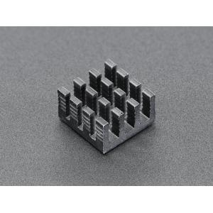 Radiaator 14 x 14 x 8mm Raspberry´le, alumiinium