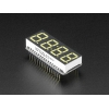 "Adafruit 0.56"" 4-Digit 7-Segment FeatherWing Display - White"
