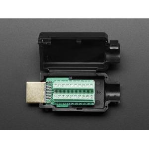 HDMI pistik, kruviklemmidega