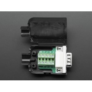 DB-9 isane konnektor kruviklemmidega