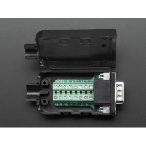 DB-15 isane konnektor kruviklemmidega
