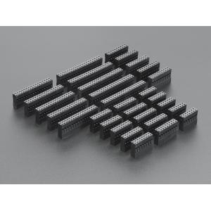 Makettjuhtme konnektori korpuste komplekt, 14-40p