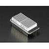 """Adafruit 0.8"""" 8x16 LED Matrix FeatherWing Display Kit - Green"""