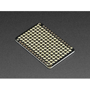 LED maatriks 9x16, 43 x 28mm, soe valge