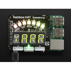 Pimoroni Rainbow HAT - LED displei Raspberry´le