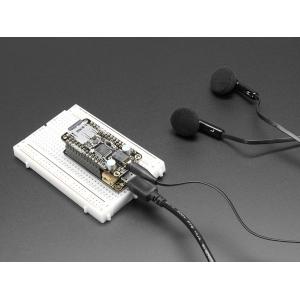 Music Maker FeatherWing - MP3 WAV MIDI pleier kõrvaklapi väljundiga
