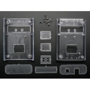 Arduino korpus LCD ekraani aknaga, läbipaistev