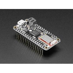 Adafruit Feather 32u4 Bluefruit LE mikrokontroller, konnektoritega