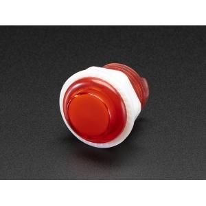 Nupplüliti 24mm, LED valgusega, punane