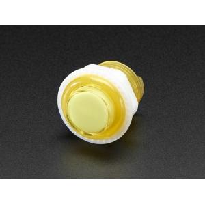 Nupplüliti 24mm, LED valgusega, kollane