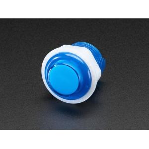 Nupplüliti 24mm, LED valgusega, sinine