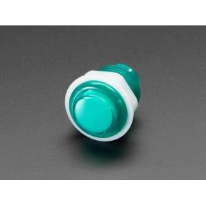 Nupplüliti 24mm, LED valgusega, roheline