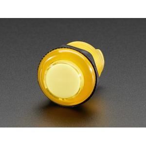 Nupplüliti 30mm, LED valgusega, kollane