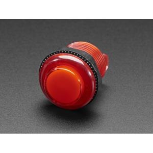 Nupplüliti 30mm, LED valgusega, punane