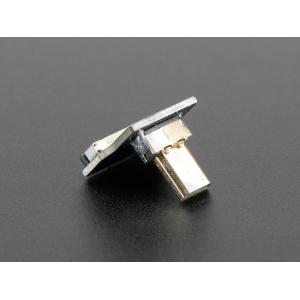 Micro HDMI pistiku adapter lintkaablile, üles pööratud
