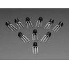 Bipolar Transistor Kit - 5 x PN2222 NPN and 5 x PN2907 PNP