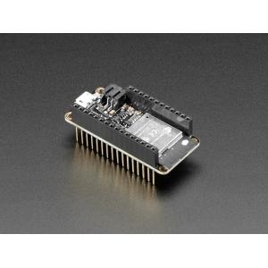 Adafruit Feather HUZZAH32 ESP32 WiFi mikrokontroller, kõrgete konnektoritega