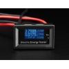 Võimsusmõõtja, LCD displeiga, 100Vdc 15A