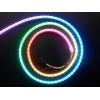 NeoPixel LED riba, RGB Digital, 120 LED/m, külgvalgus, must alus, 1m