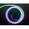 NeoPixel LED riba, RGB Digital, 90 LED/m, külgvalgus, must alus, 1m