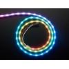 NeoPixel LED riba, RGB Digital, 60 LED/m, külgvalgus, must alus, 1m