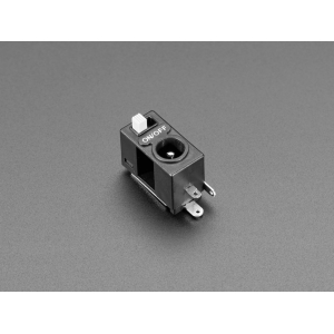 DC toitepesa 5.5/2.1mm, liuglülitiga