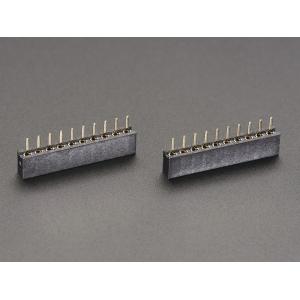 XBee kontaktiriba, 10p 2.0mm, emane, 2 tk