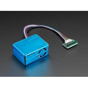 PMS5003 - PM2.5 õhukvaliteedi andur, makettplaadi adapteriga