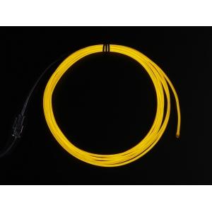 Elektroluminestsents kaabel, kollane, 2.5m