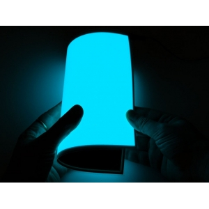 Elektroluminestsents paneel, Aqua, 20 x 15cm