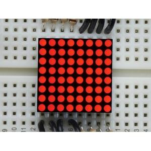 LED maatriks 8x8, 20mm, punane