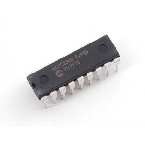 MCP23008 - I2C 8-bit I/O ekspander, DIP-18